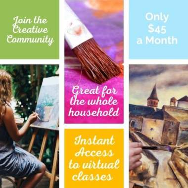 Join the Creative Club! Virtual Painting Membership