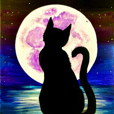 Black Cat Moon with Erin