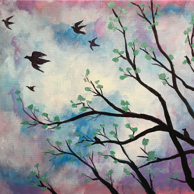 'Flying Birds'
