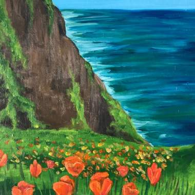 'California Poppies' -Live Online Event