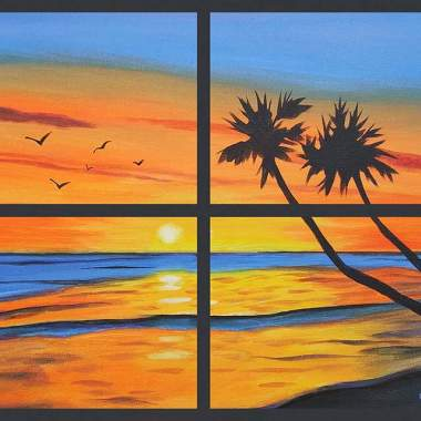 Painting & Brews - Ocean View