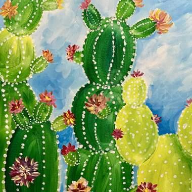 'Blooming Cactus'