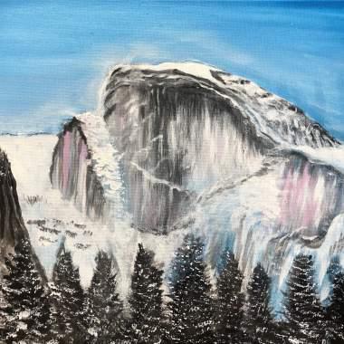 Snowy Yosemite!