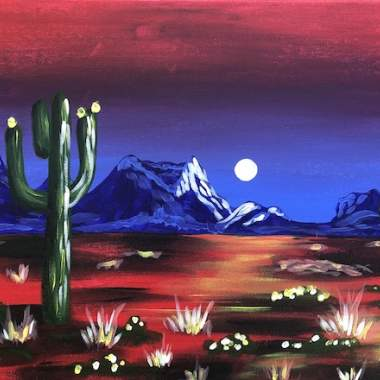 Desert in Red - Live Online Event