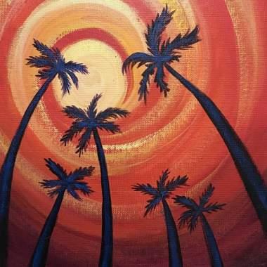 'Palm Sunset'