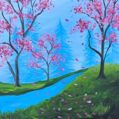 'Pink Fall'